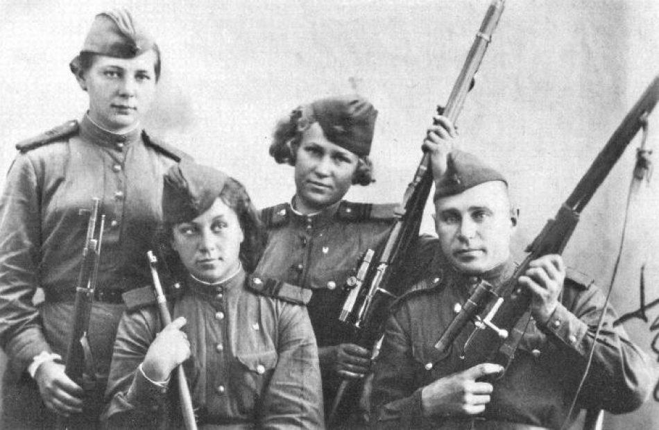 Las mujeres en la victoria sobre el fascismo