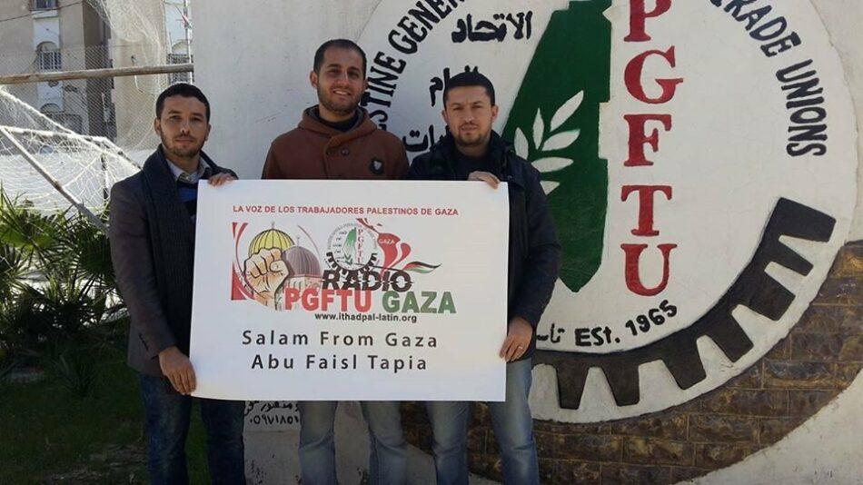 Sindicatos de Gaza señalan la peor situación de los trabajadores desde el bloqueo