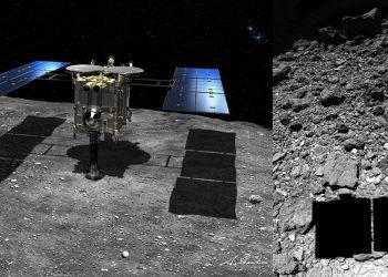 Hayabusa 2 ofrece nuevos datos del asteroide donde recogió material