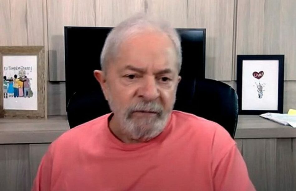 Lula da Silva: «O Bolsonaro crea coraje y reglas, o renuncia»