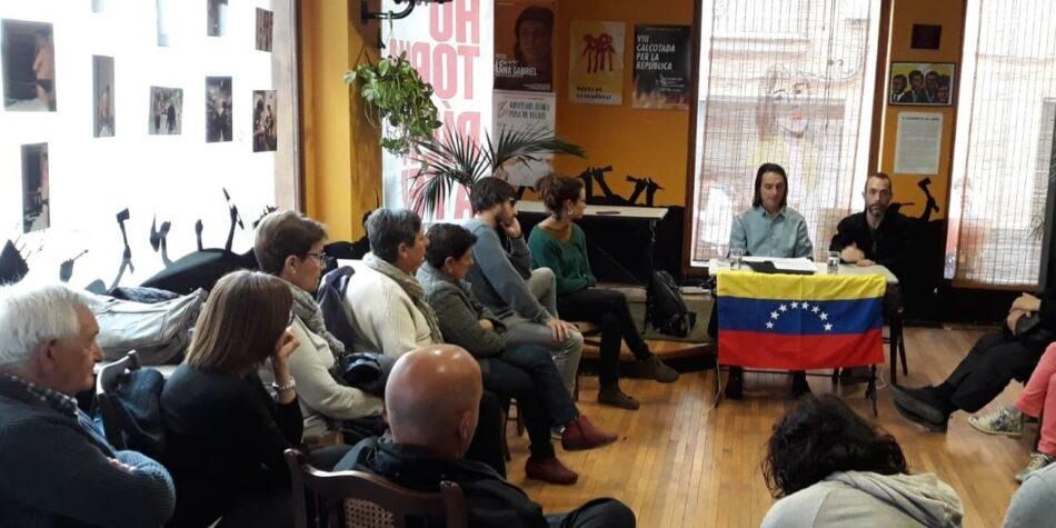 Plataforma Catalana de Solidaridad con Venezuela repudia incursión armada en territorio venezolano