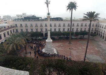 EQUO denuncia que la remodelación de la Plaza Vieja de Almería indica que el gobierno municipal no ha aprendido nada de esta pandemia