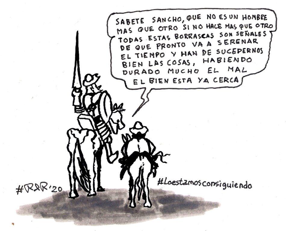 #Lo estamos consiguiendo.