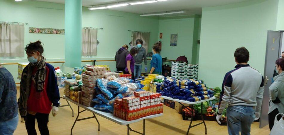 Las redes vecinales de solidaridad de la capital alimentan a más de 5.800 familias y más de 20.000 personas