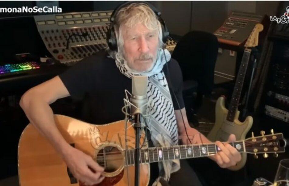 Roger Waters le dedicó un video a Ramona y mandó un abrazo a la Villa 31
