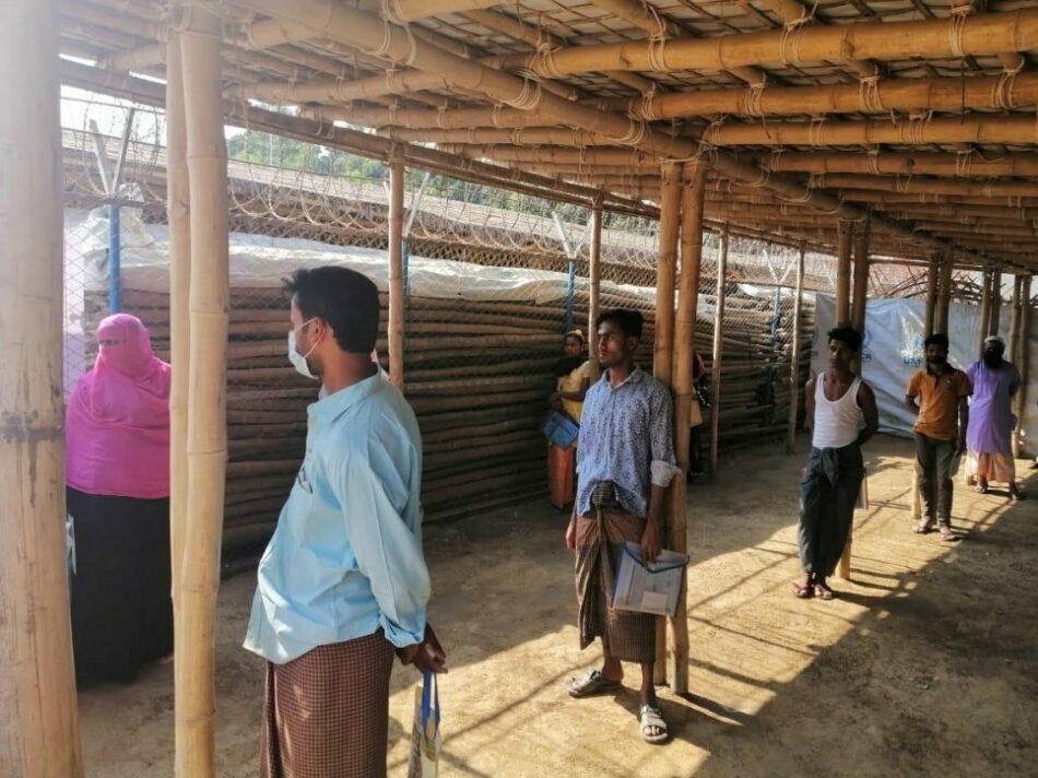 ACNUR alerta sobre la detección de casos de Covid-19 en campamentos de refugiados rohingyas