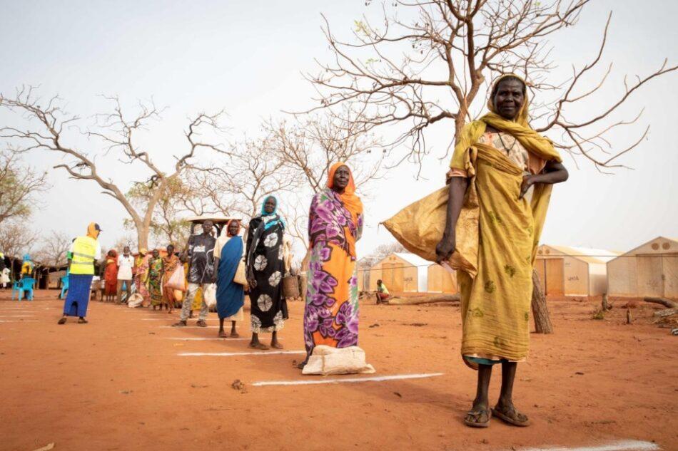 ACNUR alerta de la inminente crisis humanitaria en Sudán del Sur a causa de los combates y la amenaza del coronavirus