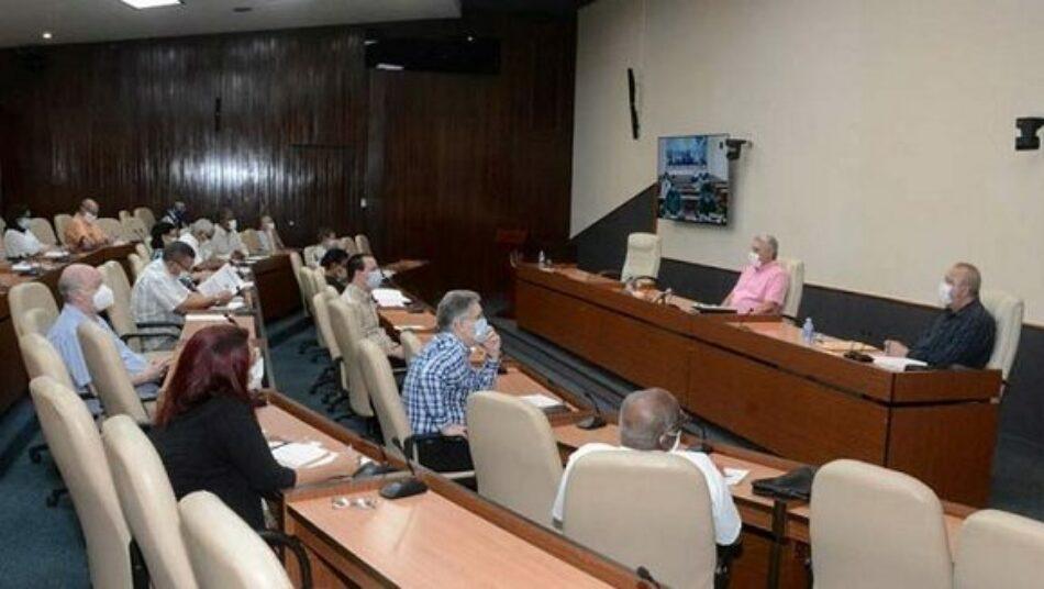 Aumentar la producción de alimentos, una prioridad para Cuba, afirmó Díaz Canel