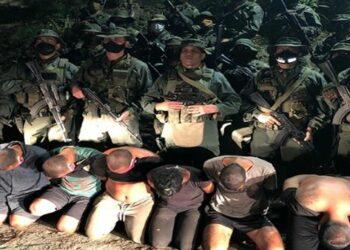 Autoridades venezolanas capturan a 14 mercenarios durante las últimas 24 horas