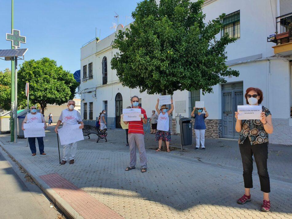 Entidades sociales se movilizan ante los recortes de la Junta de Andalucía que dejará en la calle a 150 jóvenes ex tutelados durante el estado de alarma