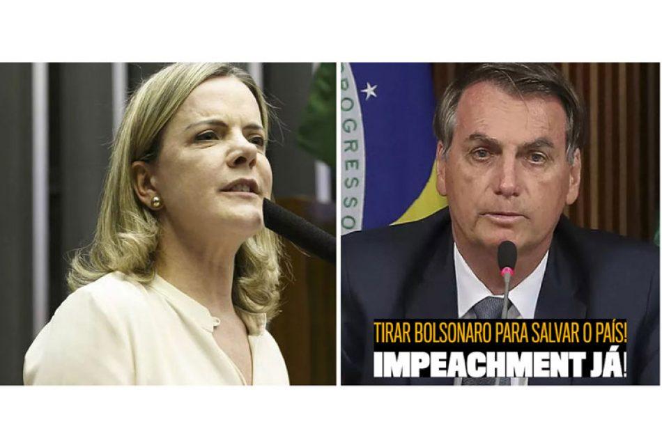 PT-Brasil reafirma su compromiso de lucha y destitución de Bolsonaro