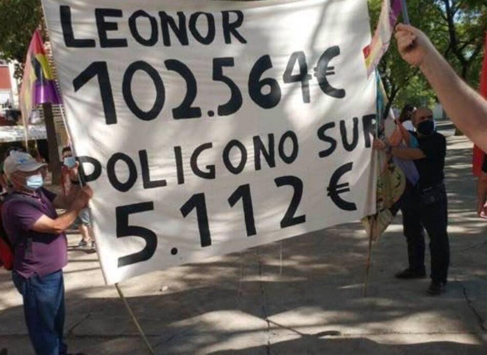 """Adelante Sevilla reclama """"menos fotos y más soluciones"""" para Polígono Sur durante la visita de Felipe de Borbón"""