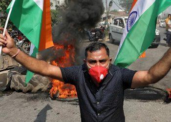 La India es el peón 'nazi' en la escalada de EEUU contra China