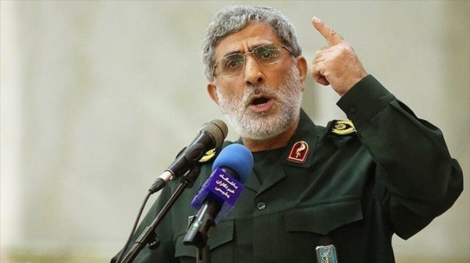 Sucesor del general Soleimani manda advertencia a EEUU e Israel