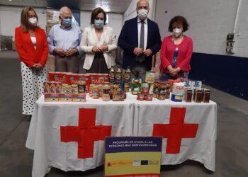 Andalucía recibe 5,86 millones de kilos de alimentos del programa de ayuda alimentaria del Gobierno de España que alcanzarán a 367.000 personas en riesgo de exclusión social