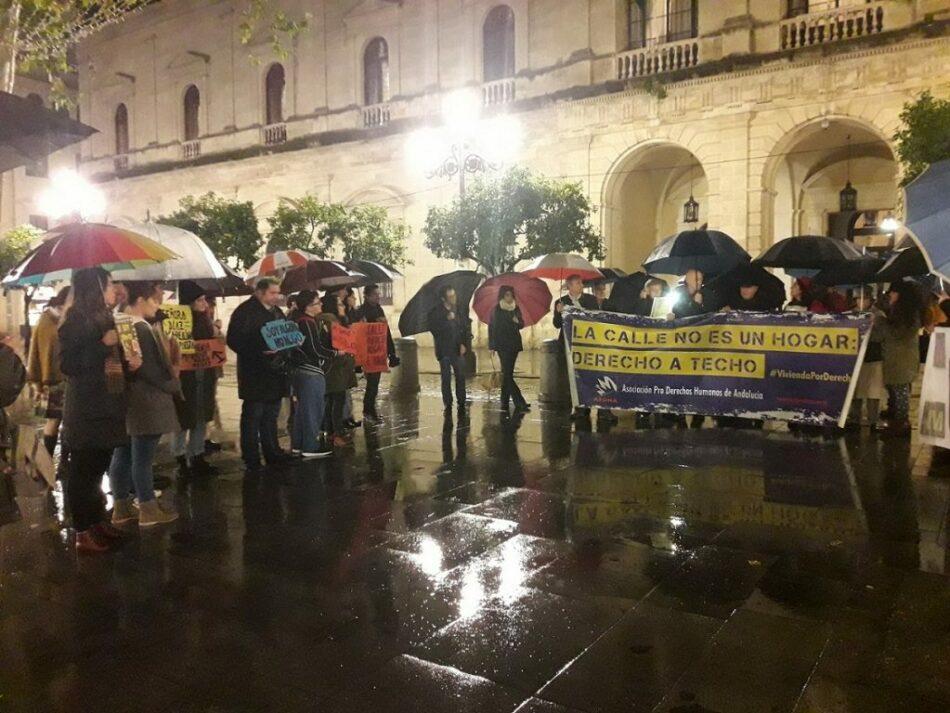 APDHA Sevilla exige que no se den pasos atrás en la atención a las personas sin hogar porque devolverlas a la calle no puede ser una opción