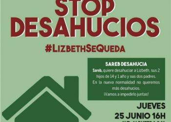 #LizbethSeQueda: nuevo intento de desahucio en la Av. Albufera por parte de la SAREB