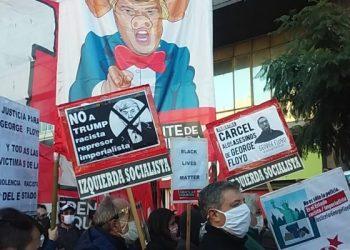 Movilización en solidaridad con George Floyd y la lucha del pueblo de EE.UU