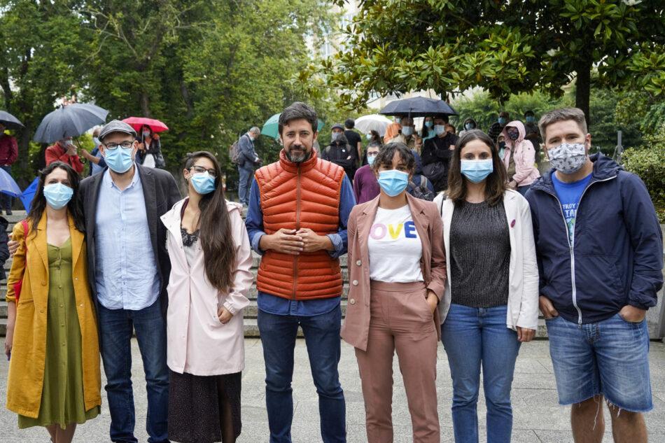 """Gómez Reino: """"O 12X temos que pechar as portas da Xunta á represión e á intolerancia da extrema dereita de Feijóo e Abascal"""""""