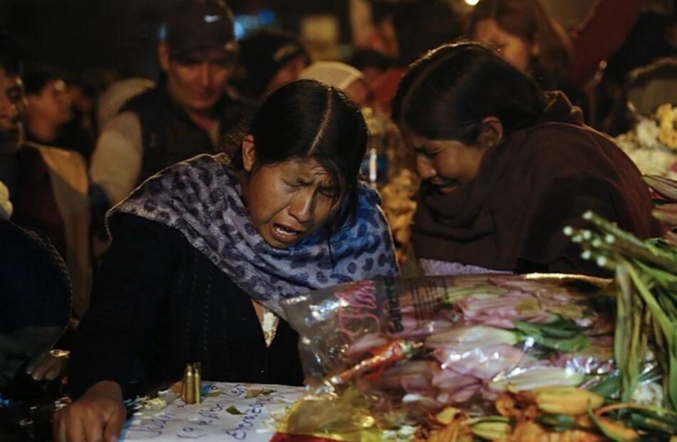 Manifiesto de Wiphalas en el Mundo: «¡Bolivia: elecciones y democracia ya!»