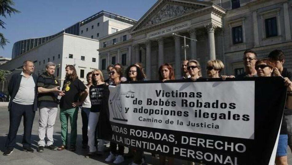 Sale adelante una ley para reconocer e investigar el robo de bebés durante la dictadura Franquista y primeros años de la democracia