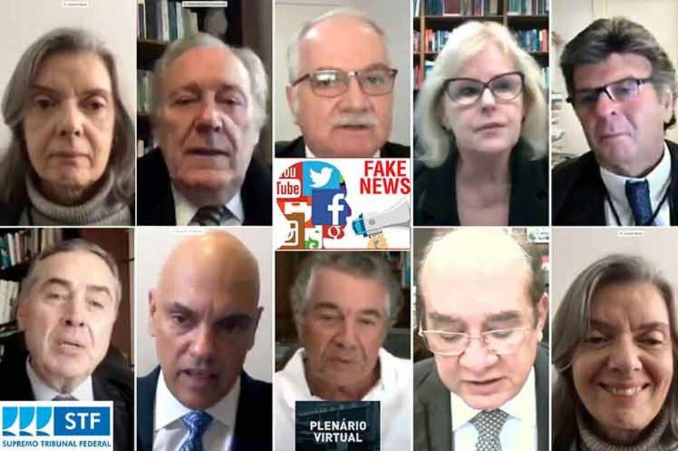 Corte Suprema de Brasil retoma juicio sobre fake news