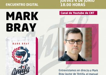 Encuentro digital con Mark Bray, autor de 'Antifa, el manual antifascista'