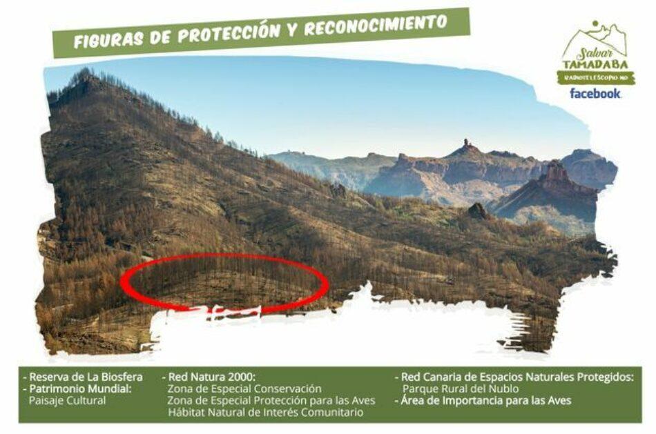 """El Instituto Geográfico Nacional """"buscará otro emplazamiento» para el Radiotelescopio que atentaba contra Tamadaba (Gran Canaria)"""