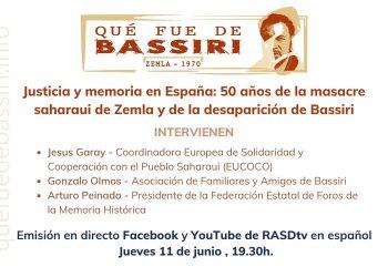 Lanzan campaña «Qué fue de Bassiri», líder saharaui desaparecido hace 50 años por Gobierno español