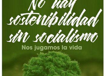 """""""No hay sostenibilidad sin socialismo"""", la campaña del Partido Comunista de España por un ecologismo de clase"""