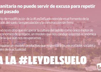 Izquierda Unida Madrid anima a la movilización contra la reforma de la Ley del Suelo