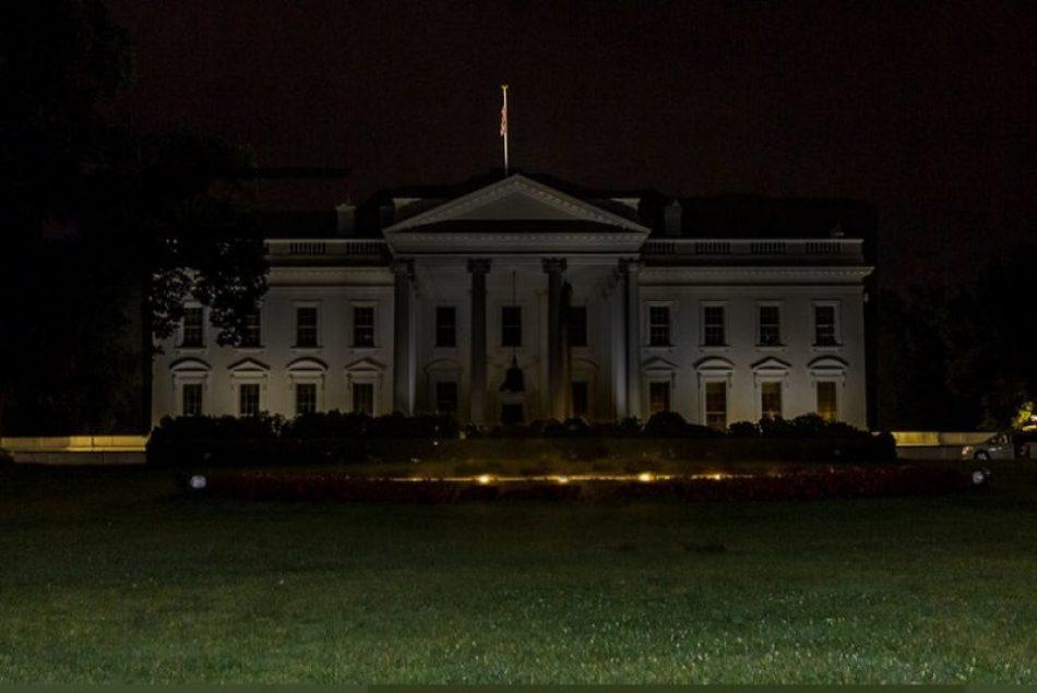 La Casa Blanca apaga sus luces durante las protestas antirracistas tras el asesinato de George Floyd