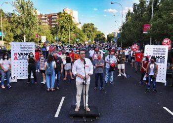 """Jaime Cedrún pide a Ayuso que deje de ser """"el ariete del PP contra el Gobierno"""" y se siente a dialogar"""