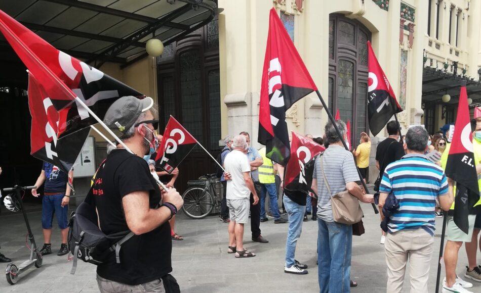 CGT apoya las movilizaciones del Plan de choque social del País Valenciano