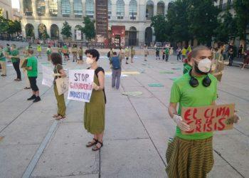 CGT participa en las acciones de '2020 Rebelión por el Clima' con motivo del Día Mundial del Medio Ambiente