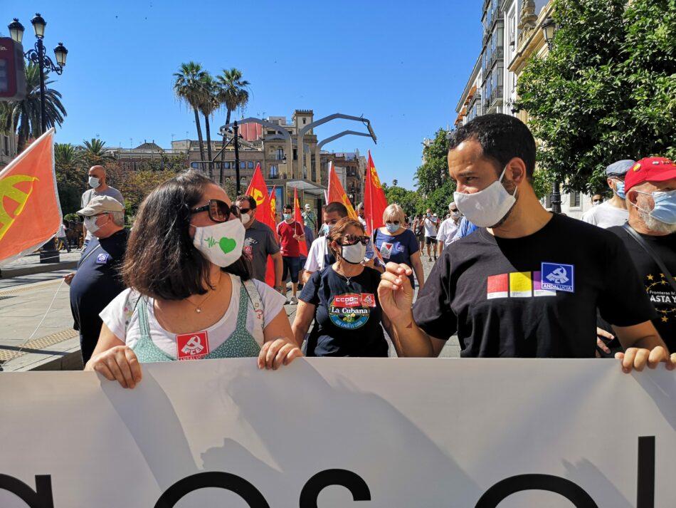 """Adelante Sevilla reclama que """"la reconstrucción económica no se cimente en una bajada de salarios y en una mayor precariedad laboral"""""""