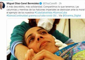 Presidente Díaz-Canel afirma que ejemplo de Cuba destroza mentiras de EE.UU.