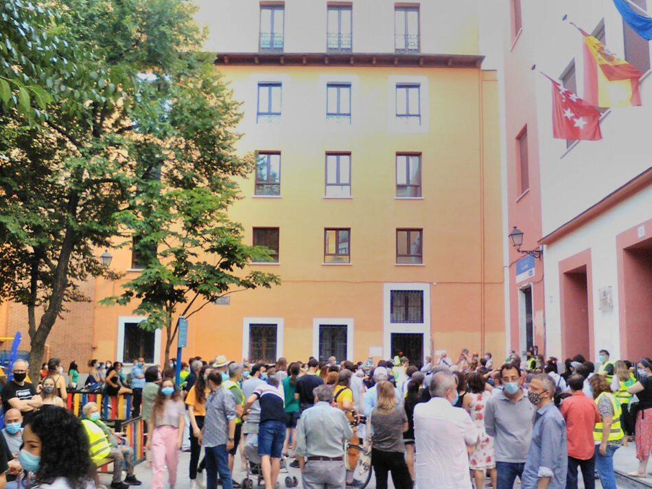 Podemos Madrid defiende la función social de las redes de apoyo frente a la política persecutoria de Almeida