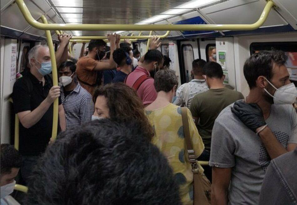 """Sol Sánchez reclama """"recortar"""" en externalizaciones e impulsar la contratación de personal en Metro de Madrid"""