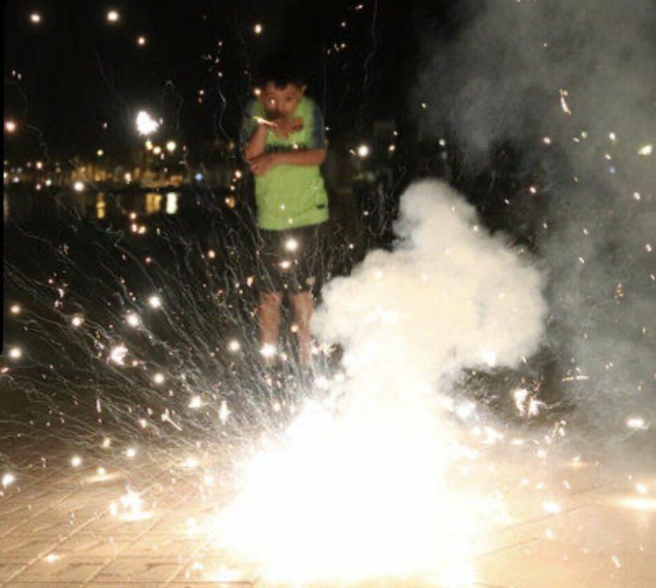 Badalona En Comú Podem Presenta una moció per a la regulació de l'ús de la pirotècnia a Badalona