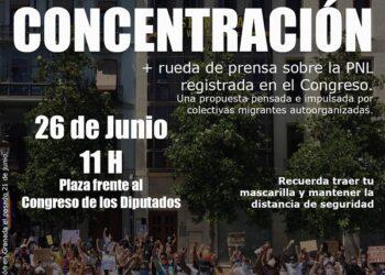 #RegularizacionYa y Coordinadora Obrim Fronteres registran una Proposición No de Ley en el Congreso para regularizar a personas migrantes
