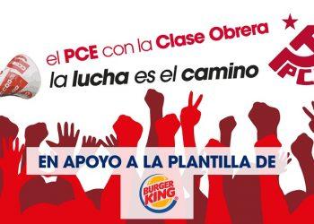 «Ante los despidos en Burger King en Zaragoza»