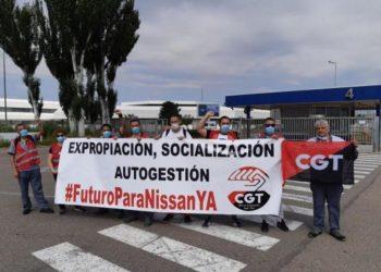 CGT anuncia concentraciones en las principales ciudades del Estado contra el cierre de Nissan