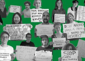 La sociedad civil dice 'no' al Tratado de la Carta de la Energía