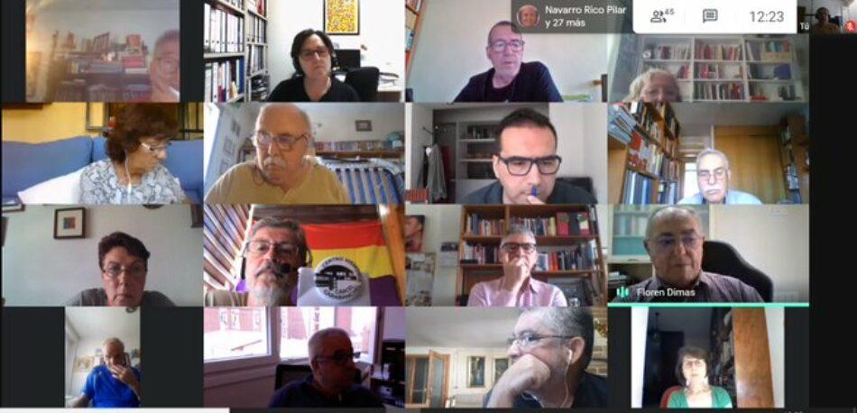 """Colectivos de la Memoria Histórica hacen un llamamiento a la movilización """"contra el fascismo y el golpismo"""""""