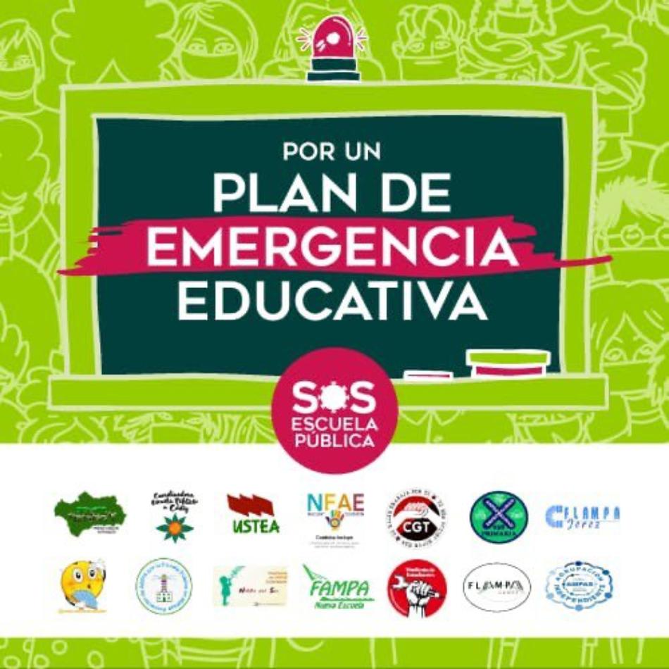 Mareas por la Educación Pública envía a las autoridades educativas estatales y autonómicas una propuesta de organización y medidas a adoptar para una vuelta a clase segura en el nuevo curso escolar 2020-2021