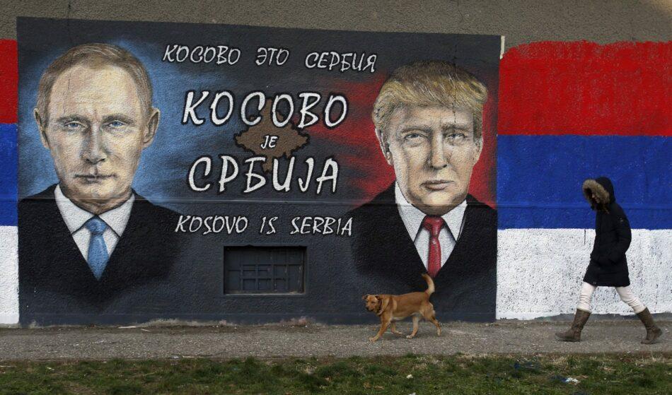 Trump gana la partida a la UE en Kosovo