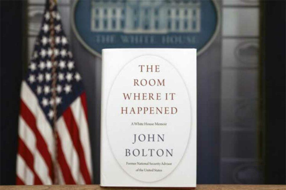 Libro de John Bolton a la venta en EE.UU.: algo de lo que trae