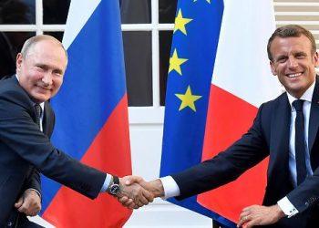 El presidente francés Emmanuel Macron anuncia una inminente visita a Rusia