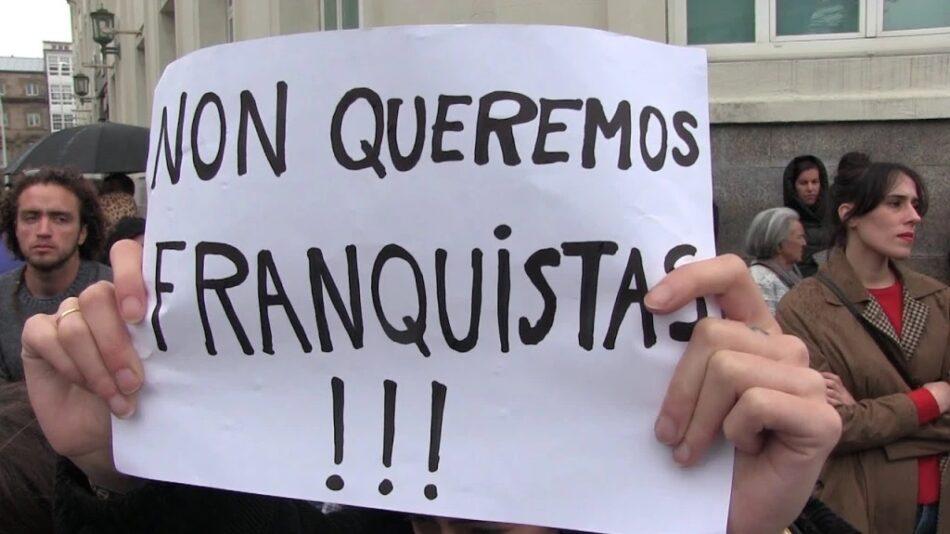 Manifesto unitario contra o fascismo: «Fóra fascistas das nosas rúas!»